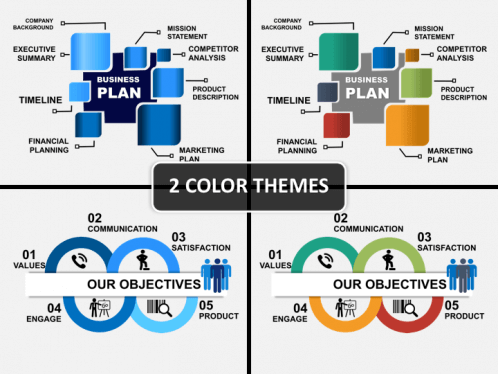 Business plan powerpoint template sketchbubble business plan ppt cover slide base image wajeb Image collections