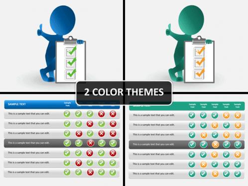 Checklist Powerpoint Template Sketchbubble