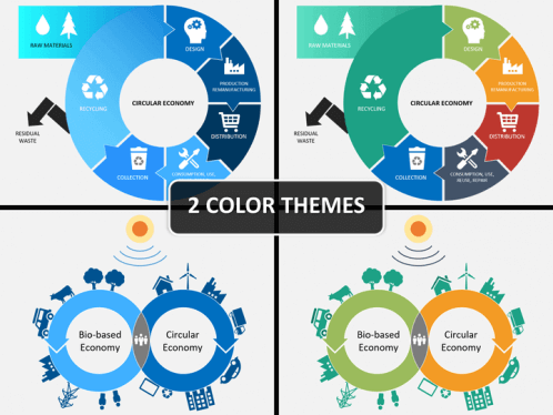 Circular economy powerpoint template sketchbubble circular economy ppt cover slide toneelgroepblik Images