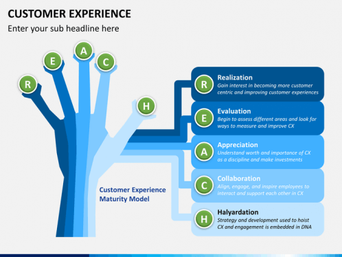 Customer Experience PPT Slide 1