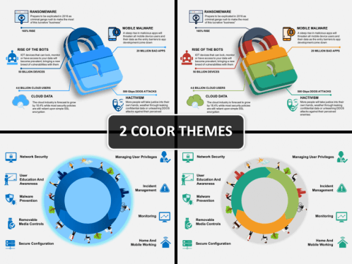 Cyber security powerpoint template sketchbubble cyber security ppt cover slide toneelgroepblik