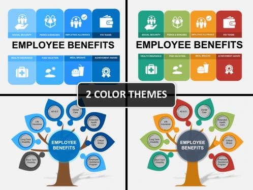 Employee Benefits Powerpoint Template Sketchbubble