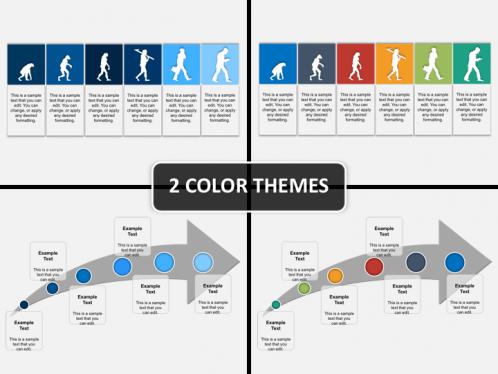 Evolution powerpoint template sketchbubble previous next evolution diagram ppt toneelgroepblik Images