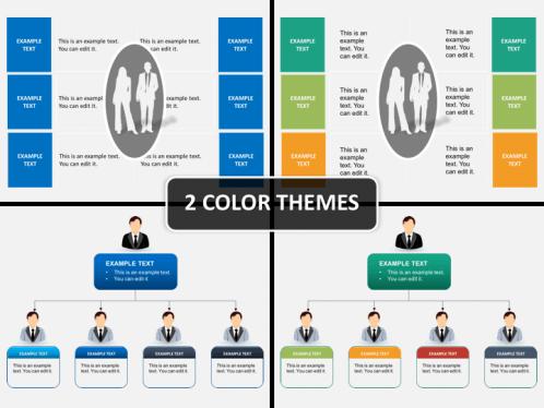 Hierarchy Diagram Powerpoint Sketchbubble