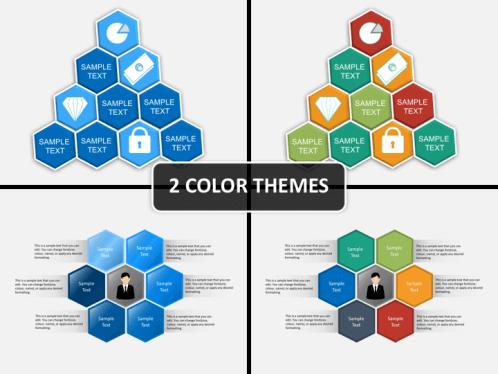 Honeycomb hexagon powerpoint sketchbubble main image toneelgroepblik Gallery
