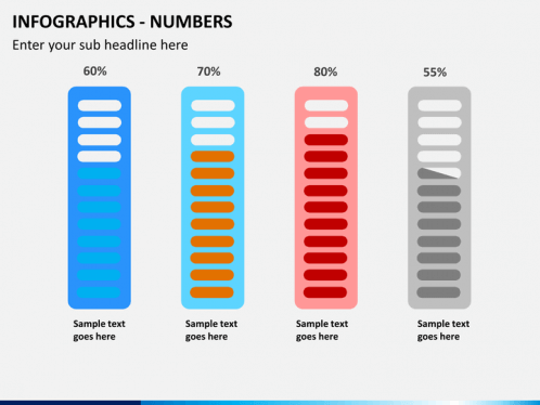 Infographics Numbers PowerPoint | SketchBubble