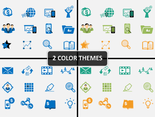 marketing icons powerpoint sketchbubble