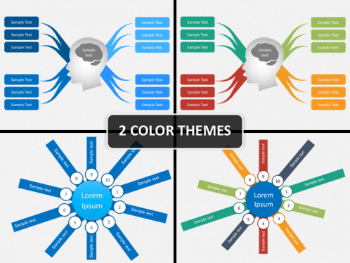 Mind Map Powerpoint Template Sketchbubble