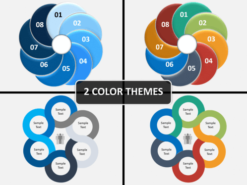 Nested circle diagram powerpoint sketchbubble nested circle diagram ppt cover slide ccuart Images