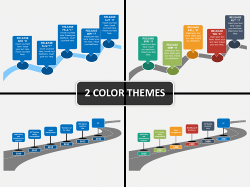 Roadmap PowerPoint Template SketchBubble - Roadmap ppt template free download