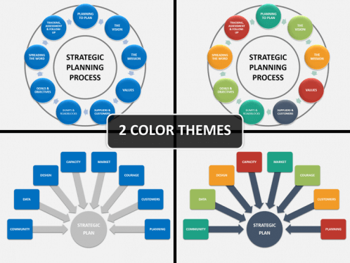 strategic planning powerpoint template | sketchbubble, Modern powerpoint
