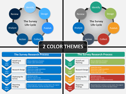 survey powerpoint template sketchbubble