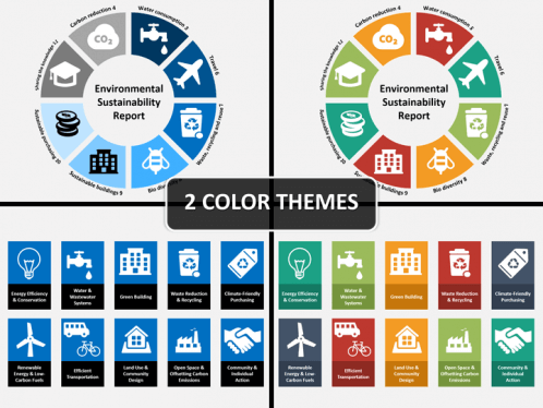 sustainability powerpoint template | sketchbubble, Presentation templates