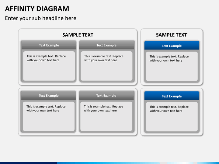 Diagram affinity diagram template free : Affinity Diagram PowerPoint Template : SketchBubble