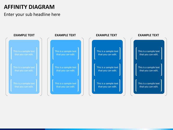 Affinity Diagram Template   Affinity Diagram Powerpoint Template  Sketchbubble