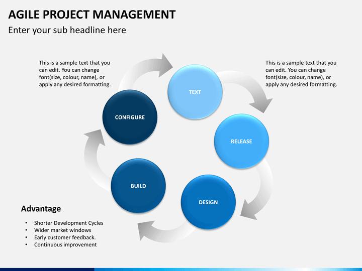 agile project management powerpoint template | sketchbubble, Modern powerpoint