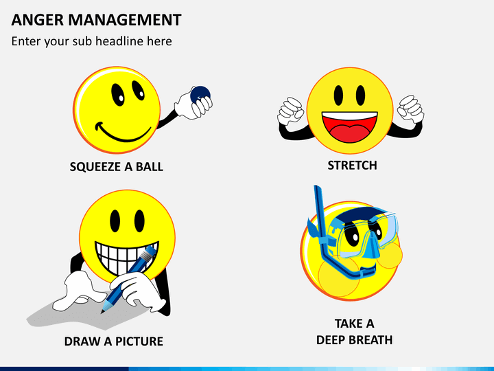 Anger Management PowerPoint Template | SketchBubble