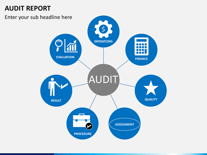 Audit Report Powerpoint Template Sketchbubble