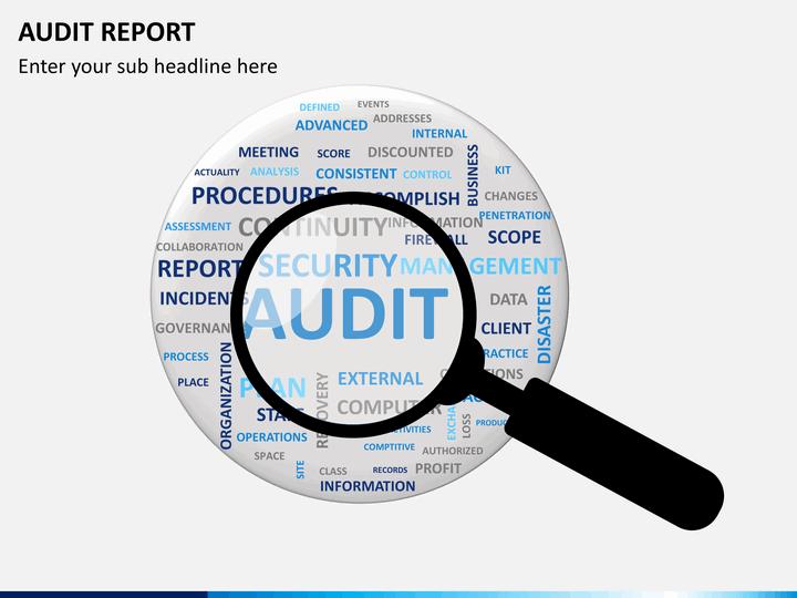 Audit Report Powerpoint Template Sketchbubble