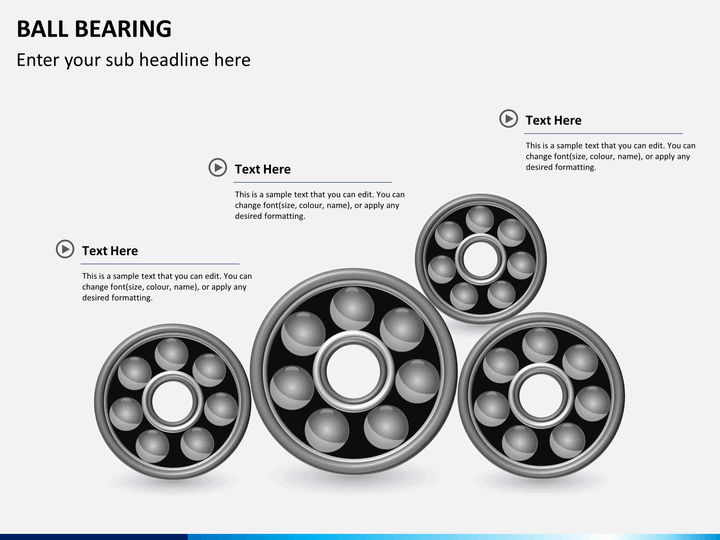 ball bearing powerpoint template