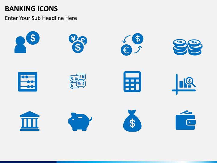 Banking Icons Powerpoint