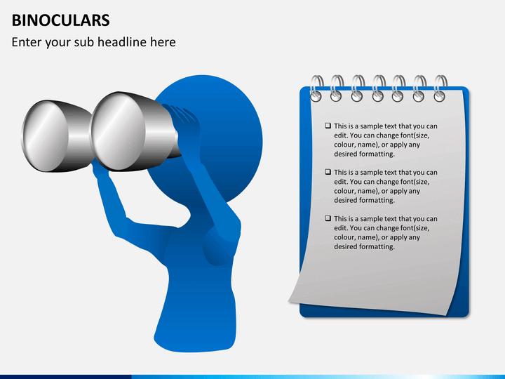 Binoculars PPT slide 1