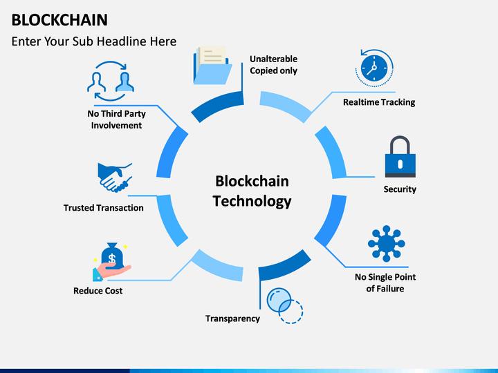 blockchain powerpoint template