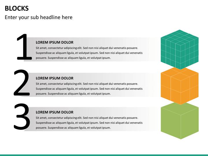 Block       Diagram       PowerPoint    Template   SketchBubble