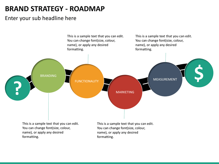 Brand Strategy PowerPoint Template | SketchBubble
