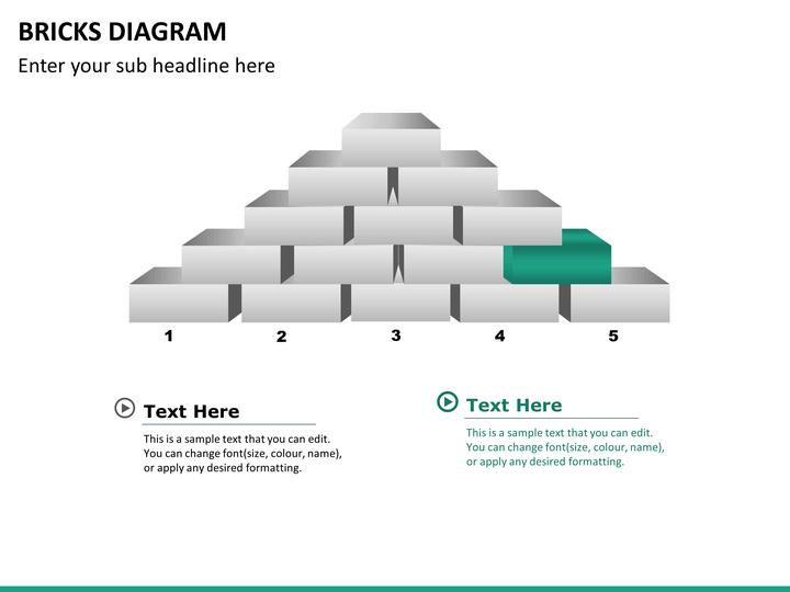 bricks powerpoint template