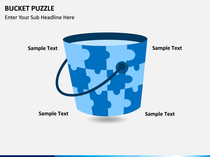 Bucket Puzzle PPT slide 1