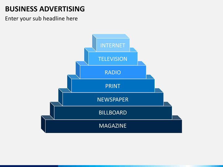 Business advertising PPT slide 1