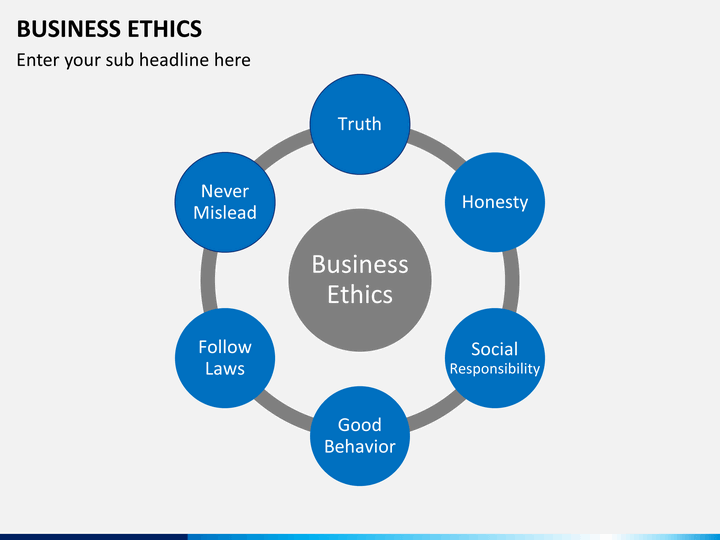 business ethics powerpoint template sketchbubble