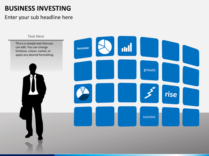 Business investing PPT slide 1