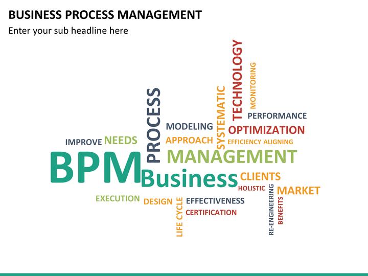 Business Process Management PowerPoint Template | SketchBubble