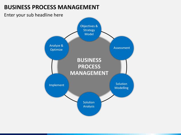 business process management ppt Business Process Management PowerPoint Template | SketchBubble