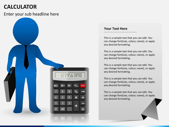 Calculator PPT slide 2