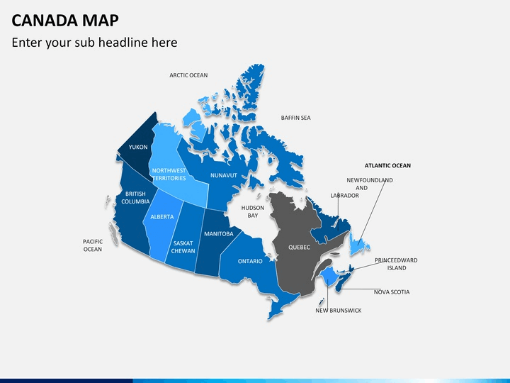Map Of Canada Template.Canada Map