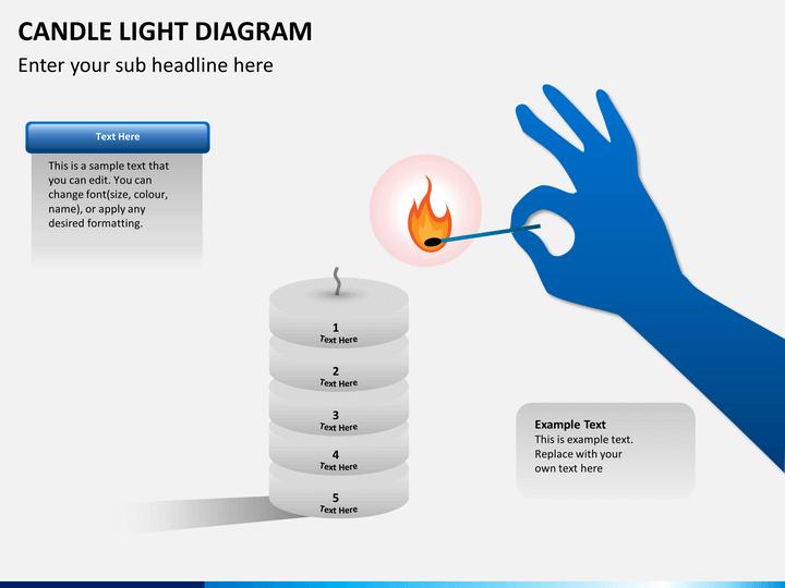 Candle light PPT slide 1