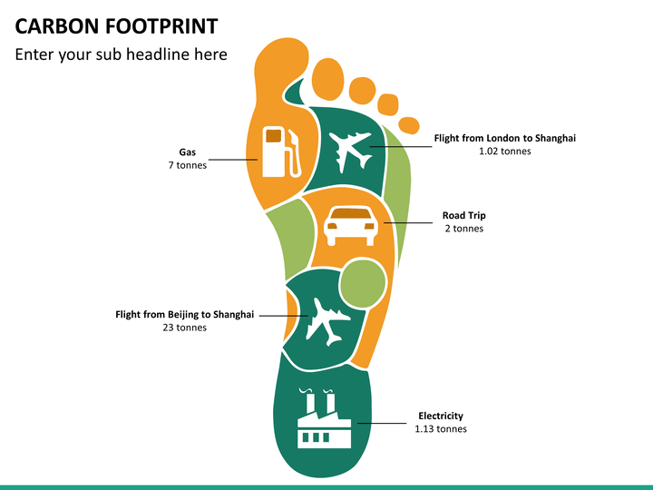Carbon footprints powerpoint template sketchbubble carbon footprint ppt slide 15 pronofoot35fo Images