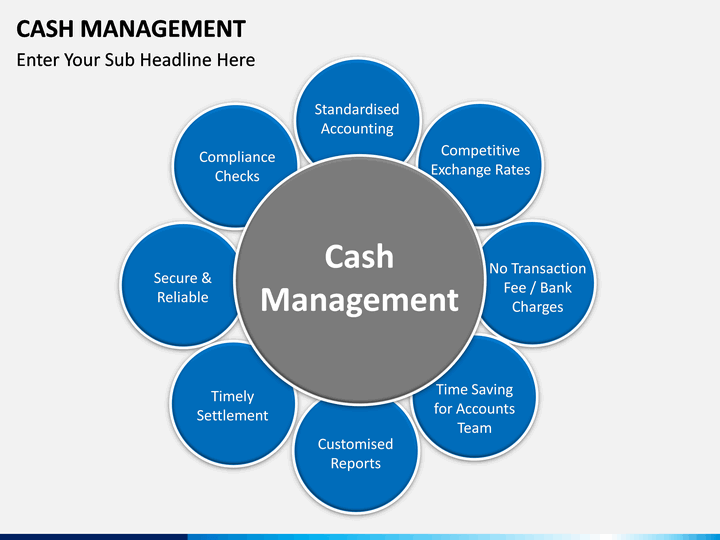 cash management powerpoint template