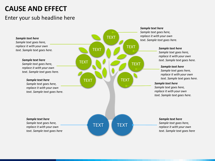 Diagram cause and effect diagram template free : Cause and Effect Diagram PowerPoint Template : SketchBubble