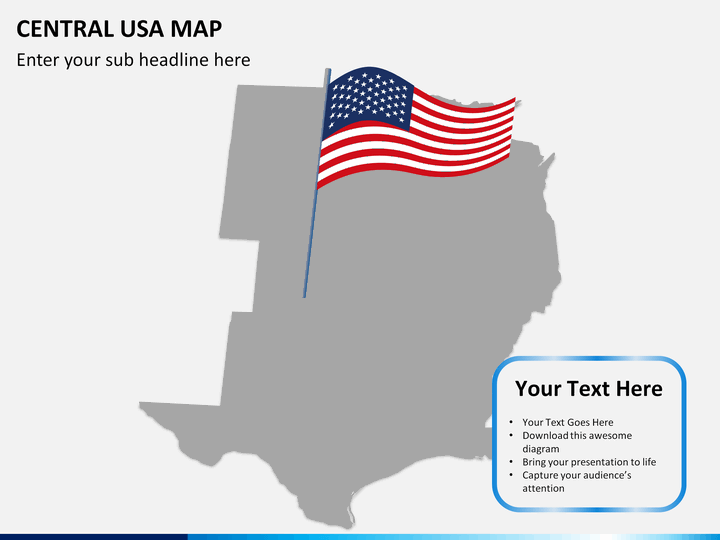 united states map powerpoint