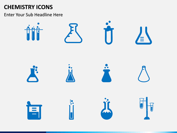 Chemistry Icons Powerpoint Template