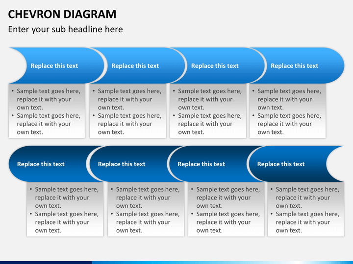 chevron diagram powerpoint template