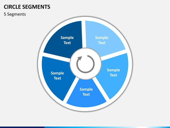 circle segments diagram powerpoint