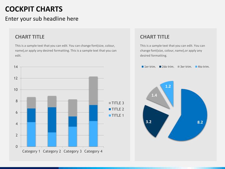 cockpit charts powerpoint templates sketchbubble