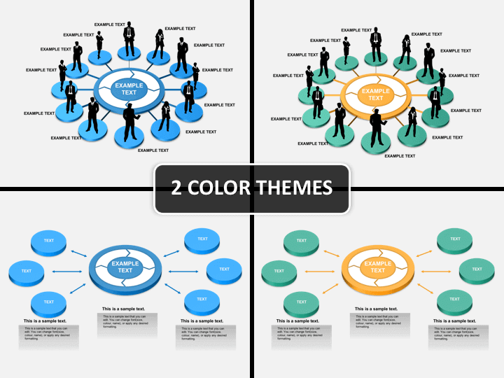 Communication process PPT cover slide