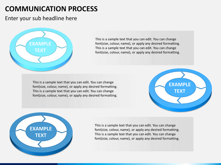 communication process powerpoint template