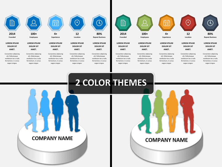 Company Profile Presentation Powerpoint Template Sketchbubble